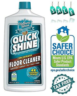 Quick Shine Concentrated Multi-Surface Floor Cleaner No Build-Up of Dulling ()