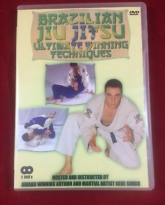 Brazilian Jiu Jitsu Ultimate Winning Techniques  2 DVD