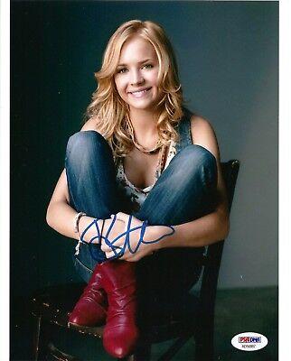 Britt Robertson Signed 8X10 Photo  3  Tomorrowland  Under The Dome  Psa Dna