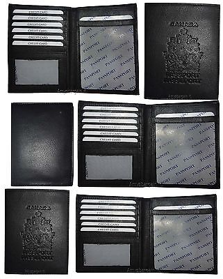 Lambskin Passport Cover (Lot of 2. New Lamb skin Canadian Leather passport cover wallet cards IDs case)