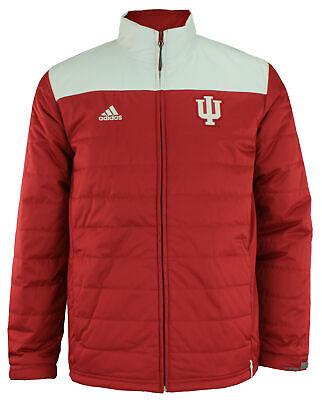 adidas Men's NCAA Climastorm Team Logo Transition Jacket, Indiana Hoosiers