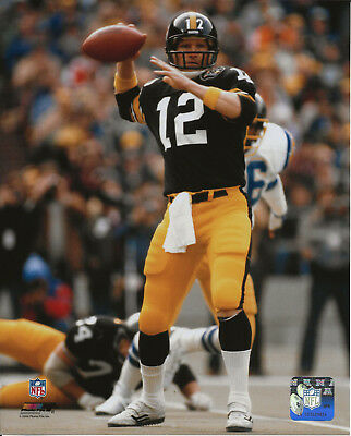 - TERRY BRADSHAW STEELERS GREATS  PHOTO FILE  LICENSED un-signed 8 x 10 photo
