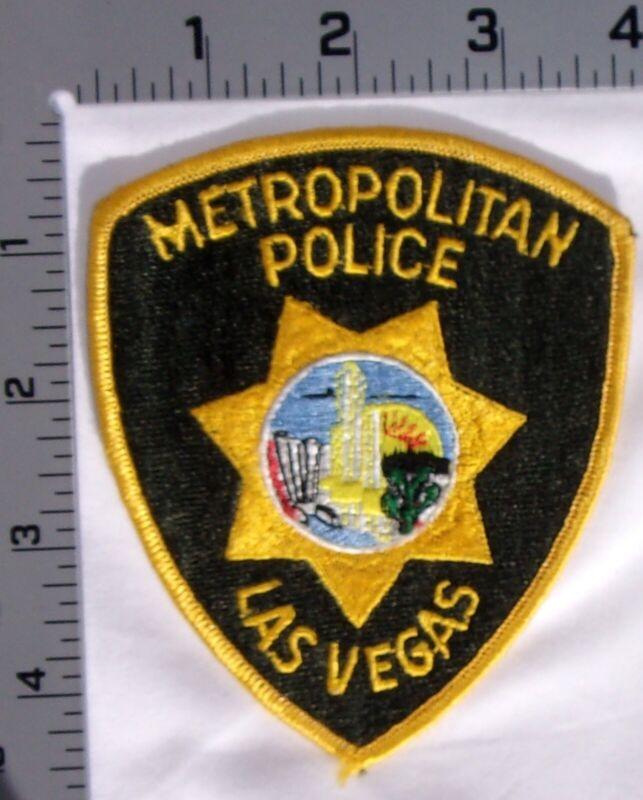 Las Vegas Nevada Metropolitan Police Department Shoulder Patch