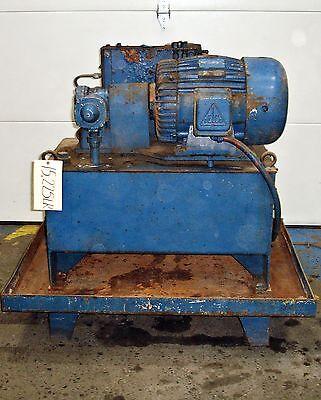Vicker Power Supply Unit 10hp Hydraulic 15225lr