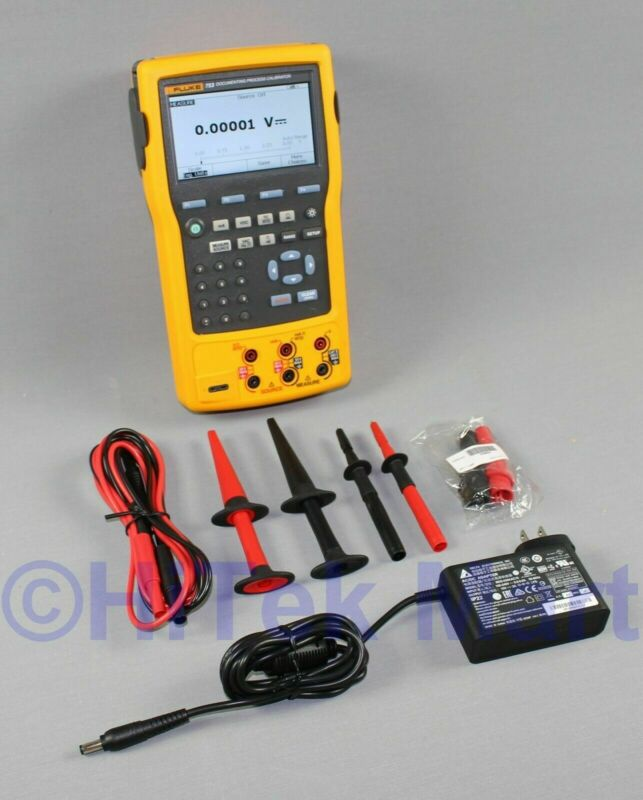 Fluke 753 Handheld Documenting Process Calibrator with Fluke test leads