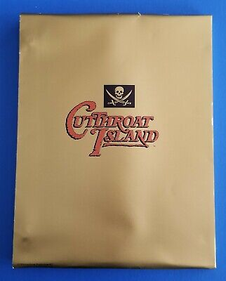 CUTTHROAT ISLAND 1995 original script GEENA DAVIS MODINE RENNY HARLIN pirates