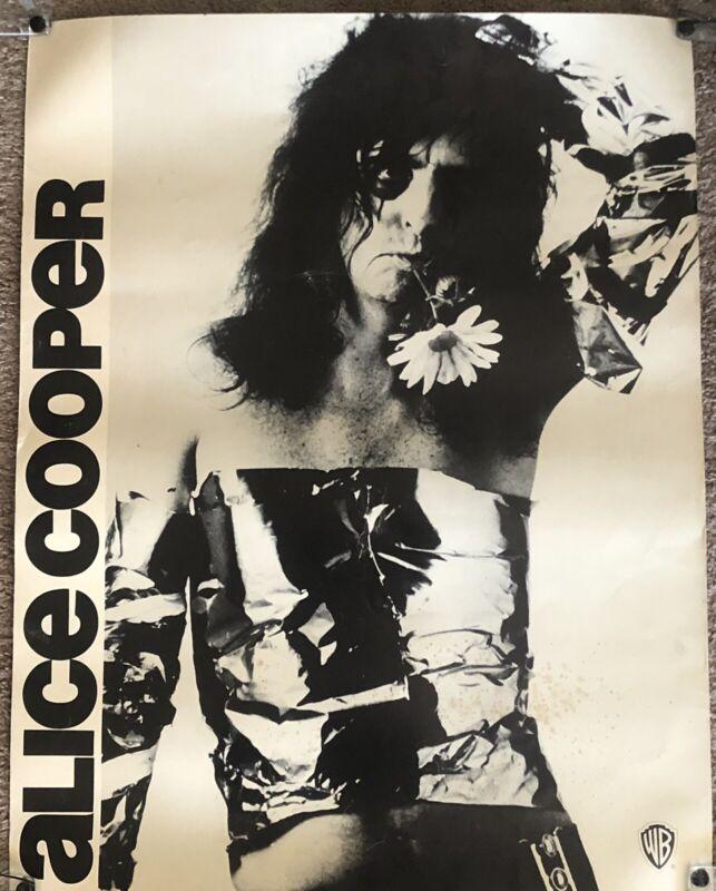 Alice Cooper 1973 Billion Dollar Babies Record Store Promo Poster