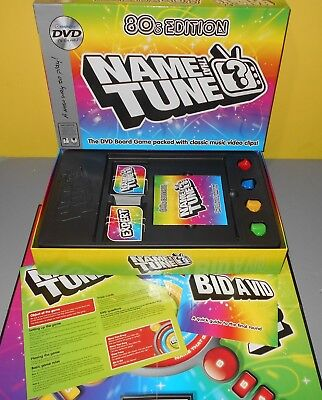 Name That Tune 80's Edition DVD Board Party Game Music Video Clips - TV Games - 80s Party Games