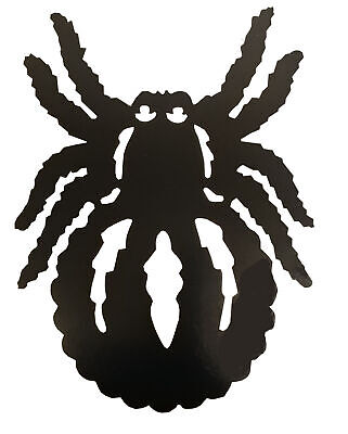 Halloween Spider Silhouette Cut Out Decoration - Halloween Spider Silhouettes