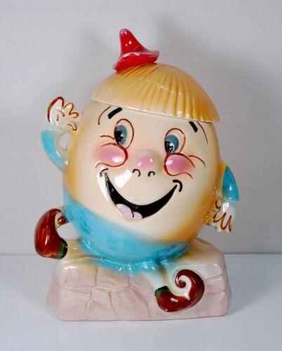Vintage Sierra Vista Starnes Pottery California Humpty Dumpty Cookie Jar