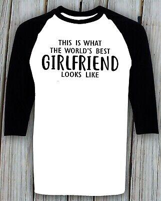 Girlfriend T-shirt Birthday Christmas Thanksgiving Gift Best Girlfriend