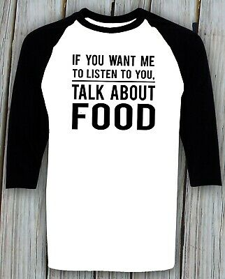 Food Lover T shirt Funny Birthday Christmas Gifts for Him Her Foodie Person Tee ()