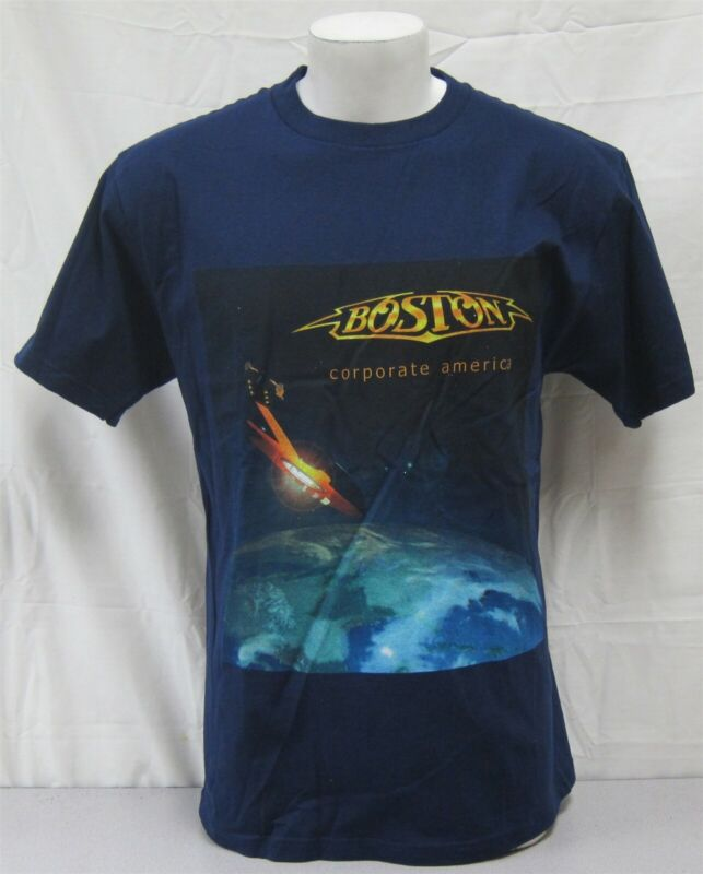 Boston 2003 Corporate America Tour Official NEVER WORN Large Concert Shirt