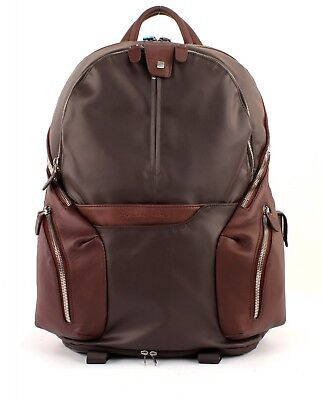 Erweiterbare Laptop-tasche (Piquadro Coleos Expandable Laptop Backpack Tasche Rucksack Herren Neu)