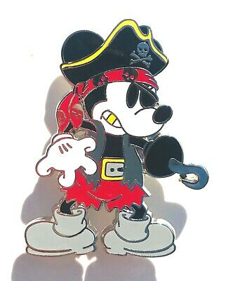 Disney Parks Mickey Mouse Pirate Costume Hook Pirates of the Caribbean - Mickey Mouse Pirate Costume