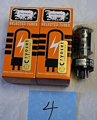 Factory Tube Amp Doctor TAD 6L6WGC-STR Matched Pair Tube - CRYO- NEW IN BOX