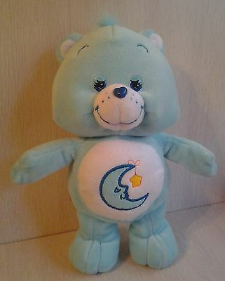 "11"" Blue Plush Bedtime Bear Care Bear 2006"
