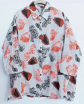 Henrik Vibskov Blouse Shirt Multi Color Size S