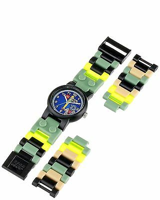 NEW Disney 8020295 Kids LEGO STAR WARS Yoda Buildable Watch jedi master movie tv