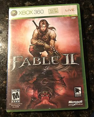 Used, Fable II  (Microsoft Xbox 360, 2008) EUC with Case Manual Disc for sale  Shipping to Nigeria