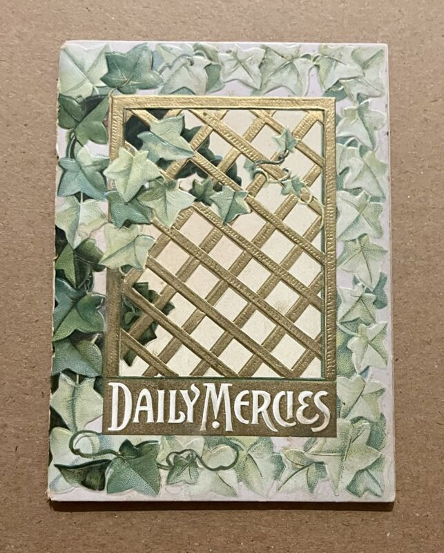 Vintage Daily Mercies Small Devotional Book~ Made In Germany