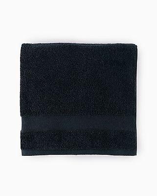 Sferra Bello Black Bath Sheet Towel Solid 100% Combed Cotton