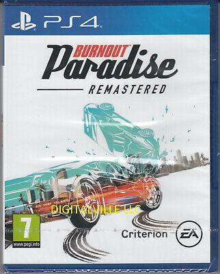 Burnout Paradise Remastered PS4 Sony PlayStation 4 Brand New Factory Sealed