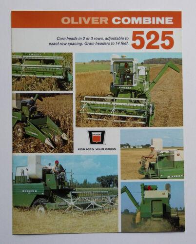 1968 Oliver 525 Combine Brochure