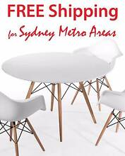 COMBO SALE - Eames Dining Table & 4 x Eames DAW Chair Zetland Inner Sydney Preview