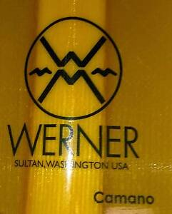 Werner Camano Kayak Paddle Carbon fiber shaft Fibreglass blades Camira Ipswich City Preview