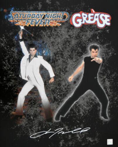 John Travolta Autographed Saturday Night Fever Grease 16x20 ASI Proof