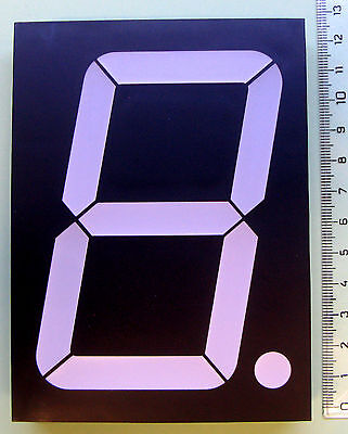 Large 10cm 4 Inch Yellow 7 Segment Led Display Common Anode - Eu Seller