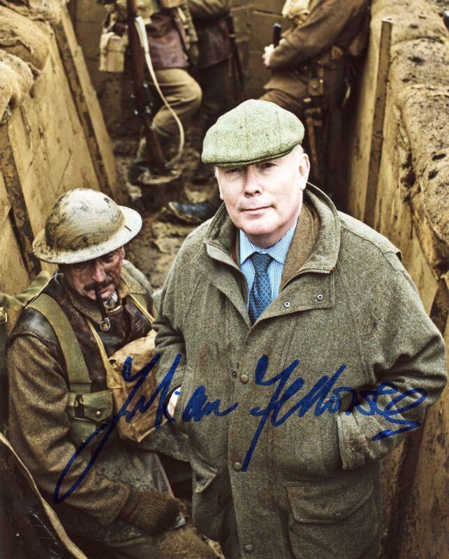 """Julian Fellowes """"Downton Abbey"""" AUTOGRAPH Signed 8x10 Photo B ACOA"""