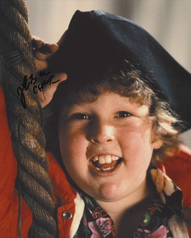 JEFF COHEN SIGNED THE GOONIES 8X10 PHOTO 2