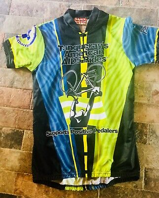 Get Gear By Idea Man Cycling Jersey Positive Pedaler's Small