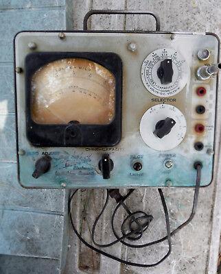 Vintage Hickok Electronic Voltohm Capacity Milliammeter Model 203