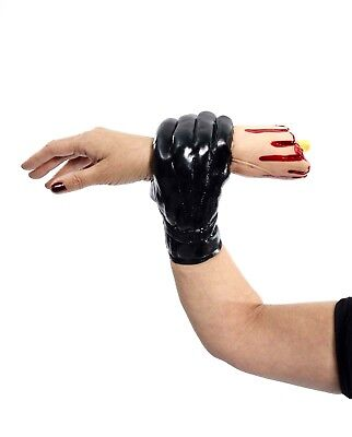 Halloween LIVING ARM HAND Cut Off Glove Holding Illusion Bloody Gag Magic Trick