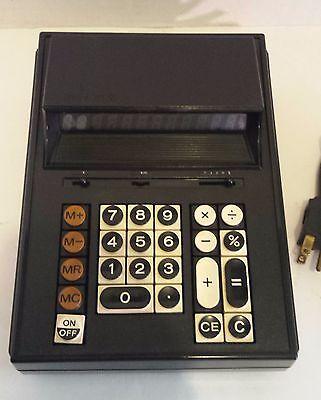 Rare 1973 Vintage Sears M12 Calculator 801.58040 (working)