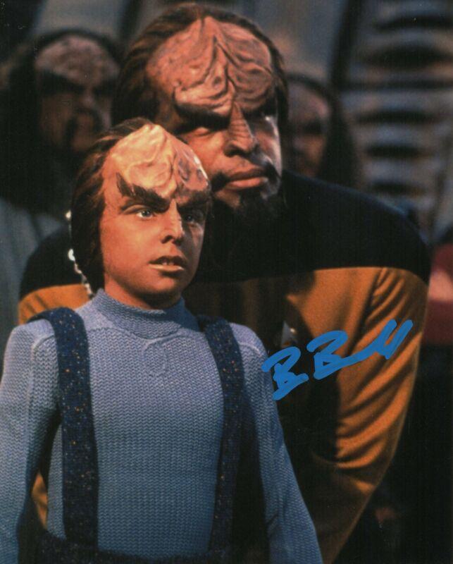 Brian Bonsall Autograph 8x10 Photo Star Trek The Next Generation Signed Zobie CO