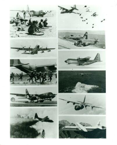 8 x 10 Photo & News Release Lockheed C-130 Hercules Versatile Transport Aircraft