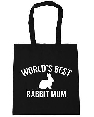 World's Best Rabbit Mum Tote Bag shopping bag for life pet lover vegetarian