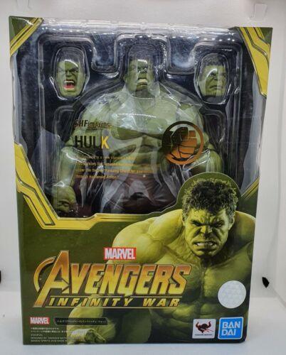 Hulk Figur aus Marvel Avengers Infinity War SHFiguarts Bandai OVP