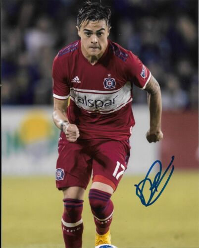 Chicago Fire Diego Campos Autographed Signed MLS 8x10 COA #4