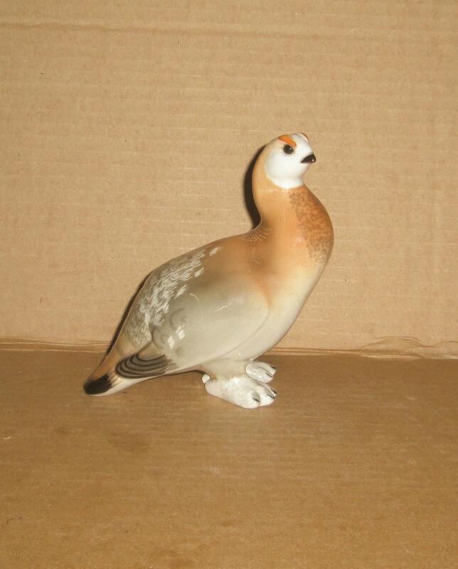 Lomonosov Bird Figurine Partridge
