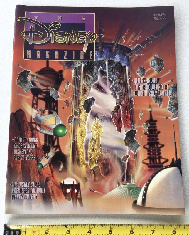 The Disney Magazine Winter 1994, New Tomorrowland, Alien Encounter, Poppins, …