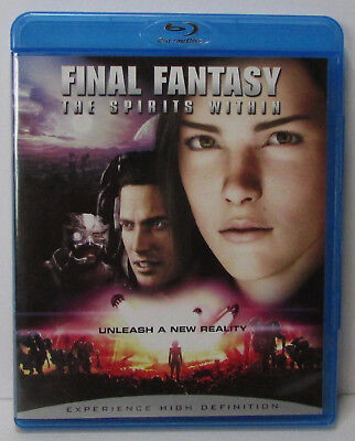 Final Fantasy: The Spirits Within Blu-ray - excellent condition!