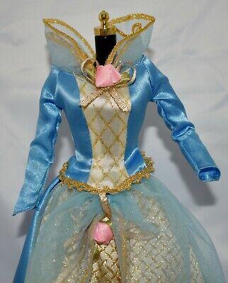 Barbie Doll Sleeping Beauty Blue Gown Fairy Tale Princess Collector Edition Snap Barbie Blue Princess Doll