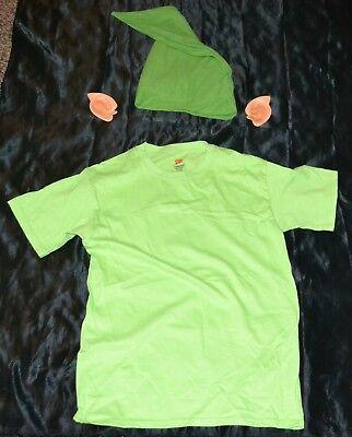 Link From Zelda Shirt, Ears & Hat Halloween Costume Adult Size: Small S Mens - Link From Zelda Halloween Costumes