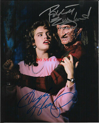 ROBERT ENGLUND & HEATHER LANGENKAMP Autographed 8 x 10 Signed Photo reprint