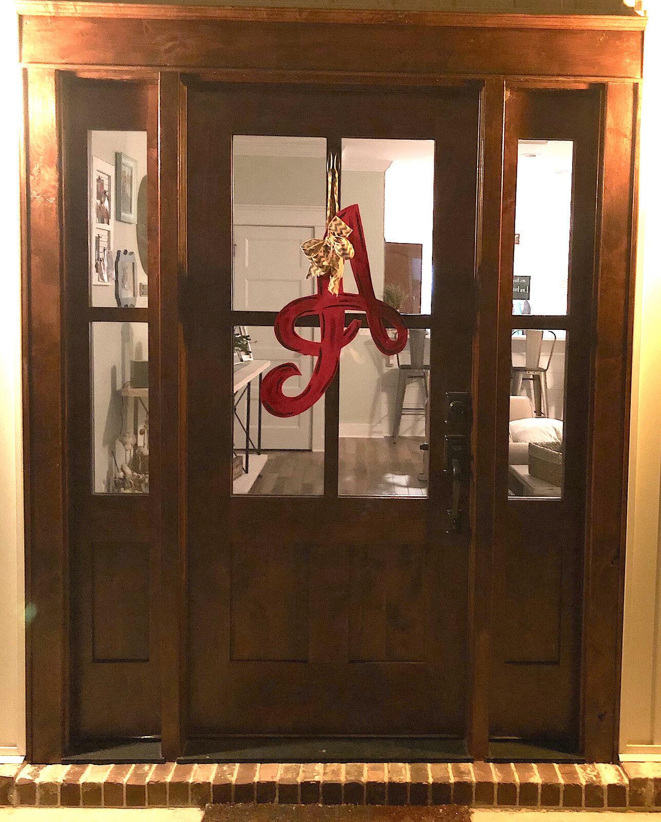Craftsman Style Knotty Alder 4 Lite Craftsman Entry Door Unit With